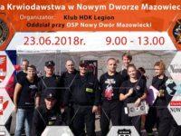 Nowy Dwór Maz: W sobotę oddaj krew