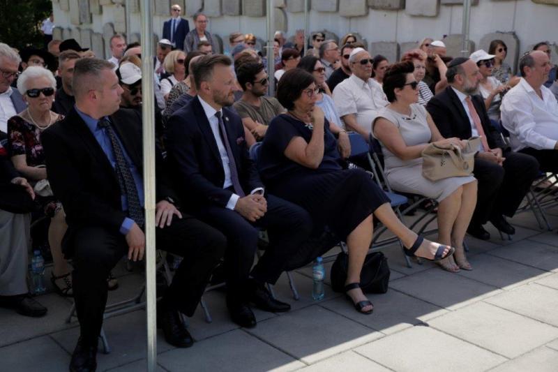 Nowy Dwór Maz: Odwiedziny delegacji społeczności żydowskiej