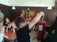 Stara Dąbrowa: Bezpieczni harcerze na obozie