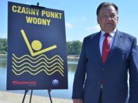 Sady: Nowy Czarny Punkt Wodny na rzece Wiśle